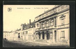AK Tournai-Doornyk, Le Théatre, Rue Perdue - Tournai