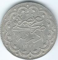 Turkey - Ottoman - Mohammed V - AH1327 / 2 (1910) - 10 Kurus - KM792 - Edirne Mint Visit - Turquia