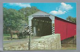 US.- PENNSYLVANIA. LANCASTER. THE SOUDERSBURG BRIDGE. Located Just Off The Lincoln Highway (U.S. 30) - Lancaster