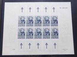 Colonies Générales - 1943 - N°Yv. 65 - Aide Aux Résistants - Feuille Complète SUP - Neuf Luxe ** / MNH / Postfrisch - Otros