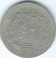 Turkey - Ottoman - Mohammed VI - AH1336 / 4 (1921) -  40 Para - KM828 - Turquia