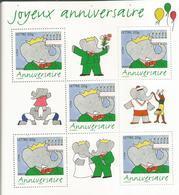 Joyeux Anniversaire Bande Dessinée 75 Ans De L'éléphant 2006 - Blocs & Feuillets