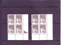 N° 3422 - 0,02 Euros - Marianne De LUQUET - 09 - TD6 - 5 Juillet 2003 - 8.07.03 RE Et 2 Traits. - Dated Corners