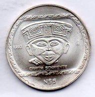 MEXICO, 5 Pesos, Silver, Year 1993, KM #584 - Mexico