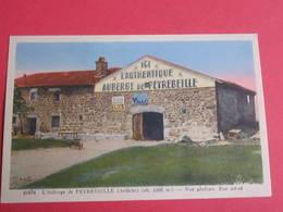 L'AUBERGE DE PEYREBEILLE (ARDECHE) VUE GENERALE - ETAT ACTUEL - (PUB BYRRH - SUZE - 2 SCANS) - France