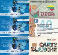 6 Cartes Diverses - France