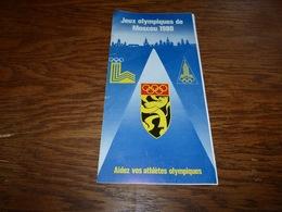 Publicité Médailles De La Série Jeux Olympiques 1980 Avec Pub Schtroumpf Olympique Peyo - Autres