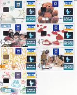 7 Cartes La Banque Postale - France