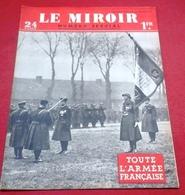 WW2 Le Miroir N°22 28 Janvier 1940 N°Spécial Toute L'Armée Française Infanterie,Génie,Artillerie,Troupes Motorisées ... - Revues & Journaux