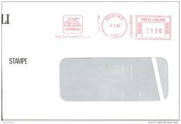 ITALIA - 1983 MESTRE (VE) ASSICURAZIONI GENERALI (Leone Di S. MARCO)  - Ema Affrancatura Mecc. Rossa Red Meter - 1227 - Marcophilie - EMA (Empreintes Machines)