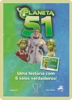 Portugal 2009 BD Planeta 51 Edição CTT Meu Selo Ilion Animations Studios Lem Films Neera Comic My Stamp Mon Timbre - Livres, BD, Revues