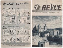 AUVELAIS  Glacerie  Maurice Tillieux  1960 - Magazines Et Périodiques
