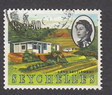 Seychelles 1962  3.50 Rupees  SG210   Used - Seychelles (...-1976)