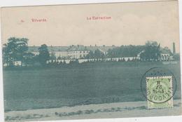 Vilvoorde - Het Correctiehuis (gelopen Kaart Met Zegel Vooraan En Stempel 1911) - Vilvoorde