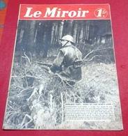 WW2 Le Miroir N°31 31 Mars 1940 Avant Postes De La Sarre,Leçon De Masques à L'Ecole,Cantonnement Spahis - Revues & Journaux