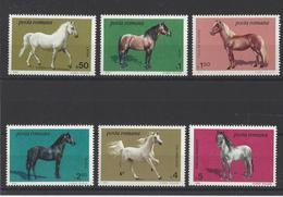 ROUMANIE.  YT  N° 3528/3533  Neuf **  1984 - 1948-.... Repubbliche