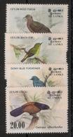 Sri Lanka - 1983 - N°Yv. 660 à 663 - Faune / Oiseaux / Birds - Complete Set - Neuf Luxe ** / MNH / Postfrisch - Sri Lanka (Ceylon) (1948-...)