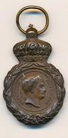 J92 - Médaille De Saint-Hélène - 1er Empire - Effigie De Napoléon 1er - Bronze - 1821 - Medaglie