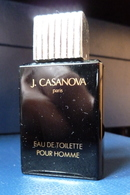 Miniature De Parfum  -  J. Casanova  - Réf, A 04 - Vintage Miniatures (until 1960)