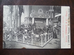 Carte Salon Du Cycle 1906-07 Stand TERROT J- LORTHIOIR 24, Rue Masséna   -LILLE - Lille
