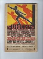 EXPO 1930 ANTWERPEN PROGRAMMA TURNEN Ingericht Door ANTWERPSE TURNKRING ST MICHIEL ; Staat Zie Scans ! RR - Gymnastique