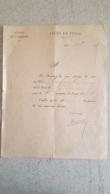 LYCEE DE TULLE 1897 RELEVE DE NOTES ELEVE LAFOND CLASSE DE 7em - Diploma & School Reports
