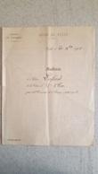 LYCEE DE TULLE 1901 RELEVE DE NOTES ELEVE LAFOND CLASSE DE 3em - Diploma & School Reports