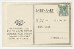 Firma Briefkaart Huizen 1930 - Papierwaren - Unclassified