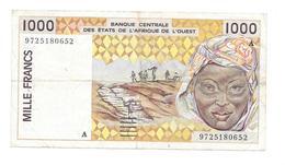 MILLE FRANCS 1000 FRANCS Banque Centrale Des Etats De L'Afrique De L'Ouest - Westafrikanischer Staaten