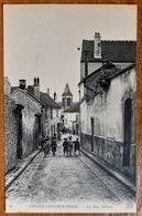 Cormeilles-en -Parisis.la Rue Neuve .Animée. E13 - Cormeilles En Parisis