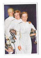 Olympia 1936 - BERLIN - Die Siegerinnen Im Florettfechten - Trading Cards
