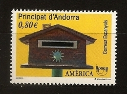 Andorre Espagnol Andorra 2011 N° 375 ** UPU, Union Postale Des Amériques, Espagne, Portugal, Boite Aux Lettres, Soleil - Nuovi