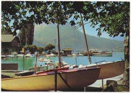 CP 74 - Lac D'Annecy Le Port De Talloires - Talloires