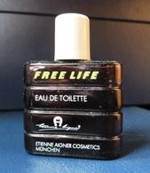 Miniature De Parfum  - Free Life De Etienne Aigner - Réf, A 04  ( 3/4 Plein ) - Modern Miniaturen (vanaf 1961)