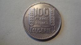 MONNAIE ALGERIE 100 FRANCS TURIN 1950 - Algeria