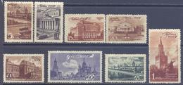 1946. USSR/Russia, Moscow Buildings, Mich.1056/63, 8v, Unused/mint - Ungebraucht