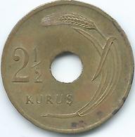 Turkey - 1948 - 2½ Kurus - KM885 - Turquia