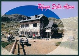 Trento Ortles Rifugio Capanna Stella Alpina Edelweisshutte Lago Corvo FG R376 - Trento