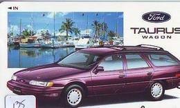 TELEFONKARTE JAPAN * FORD (135)   Phonecard  * VOITURE * AUTO * CAR * Telecarte Japon - Cars
