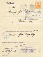 (Lo4169) Karte. DR St. Münster N. Dortmund - Allemagne