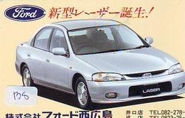 TELEFONKARTE JAPAN * FORD (138)   Phonecard  * VOITURE * AUTO * CAR * Telecarte Japon - Cars