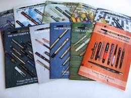 Stilografiche Fountain Pens Pencils THE BATTERSEA PEN HOME  Auction Catalogues - Pens