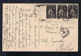 Portugal Bellas 1921MULTA Postcard  #87296 - Franchise