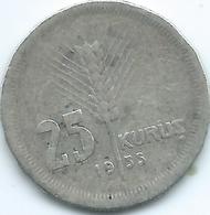 Turkey - 25 Kurus - 1935 - KM864 - Turkey