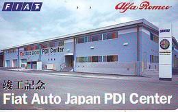 TELEFONKARTE JAPAN * FIAT * ALFA ROMEO (14)   Phonecard  * VOITURE * AUTO * CAR * Telecarte JAPON - Cars