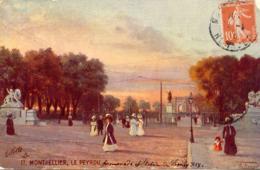 CPA - MONTPELLIER - LE PEYROU - Montpellier