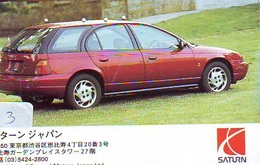 TELEFONKARTE JAPAN * GM (3)   Phonecard  * VOITURE * AUTO * CAR * Telecarte JAPON - Cars