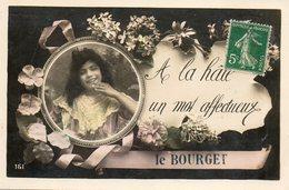 Le Bourget    A La Hate...un Mot Affectueux - Le Bourget