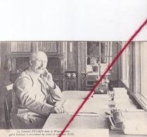 CP 62 CAUCHY LA TOUR - Le Général PETAIN Dans Le Wagon-salon Qu'il Habitait, Près Du Front, En Automne 1915 - France
