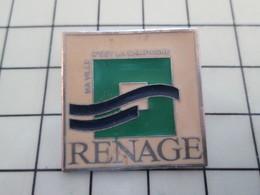 416c Pin's Pins / Beau Et Rare / THEME : VILLES / RENAGE MA VIE C'EST LA CAMPAGNE - Villes